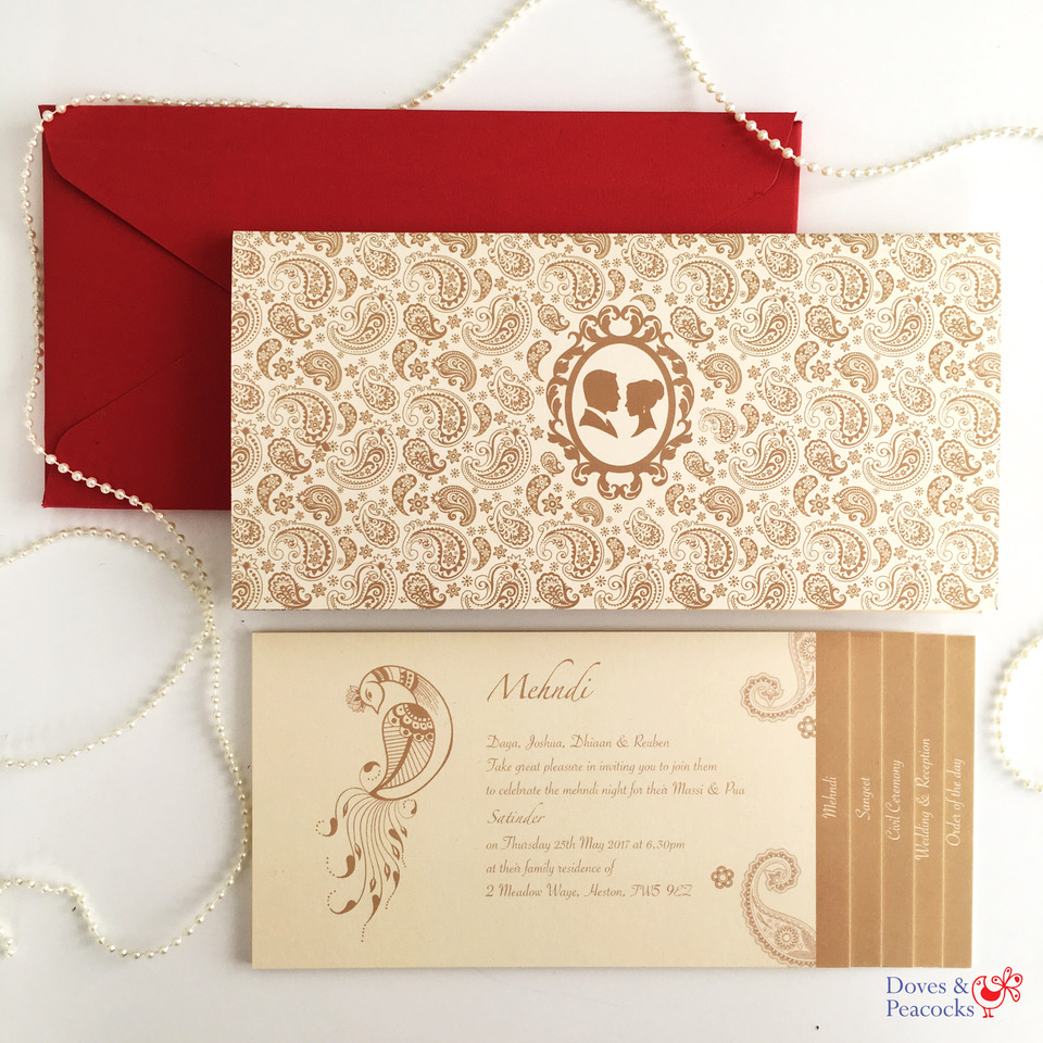 E-Invites or Paper Wedding Invitation - Rohita Pabla